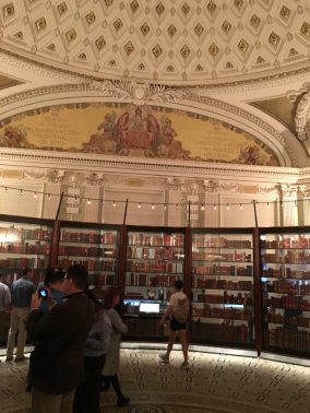 Jefferson Library within Congressional Library Washington DC