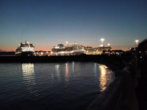Love Cruises. Coming back from Alaska. Last stop Victoria B.C., Canada. I walked a couple miles to get the shot, then walked another 4 to the heart of the city.