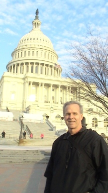 Marc at the capital.